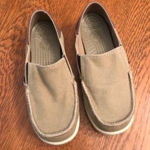 5ac38333d7b CROCS Shoes - Crocs Kids  Santa Cruz Canvas Shoes - Style 15576